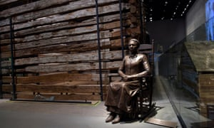 Pioneer … a statue of Clara Brown, who was born a slave in Virginia around 1800, but established a successful laundry business after being freed.