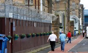 Barlinnie prison in Glasgow.