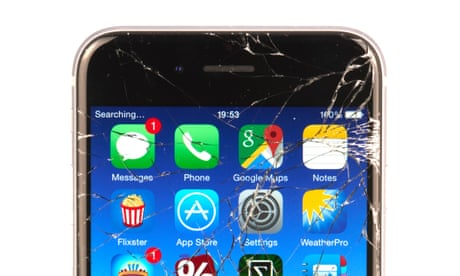 End of the smashed phone screen? Self-healing glass discovered by accident