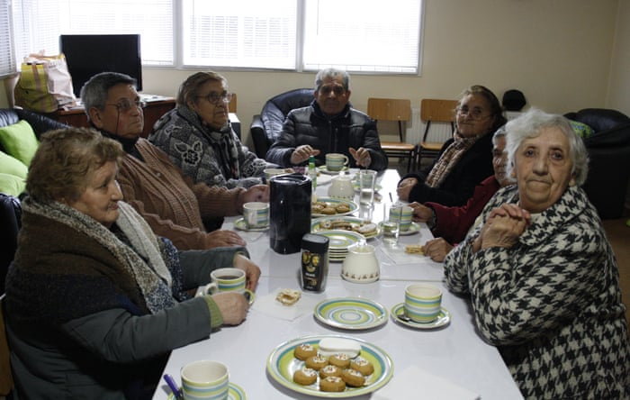 Residents of the Valdivia supervised living apartments.