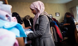 The WERS provides clothing, bedding and household essentials to refugees and asylum seekers.