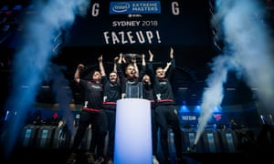 The Intel Extreme Masters final takes nearly five hours, but when the team finally complete the whitewash, the arena erupts.