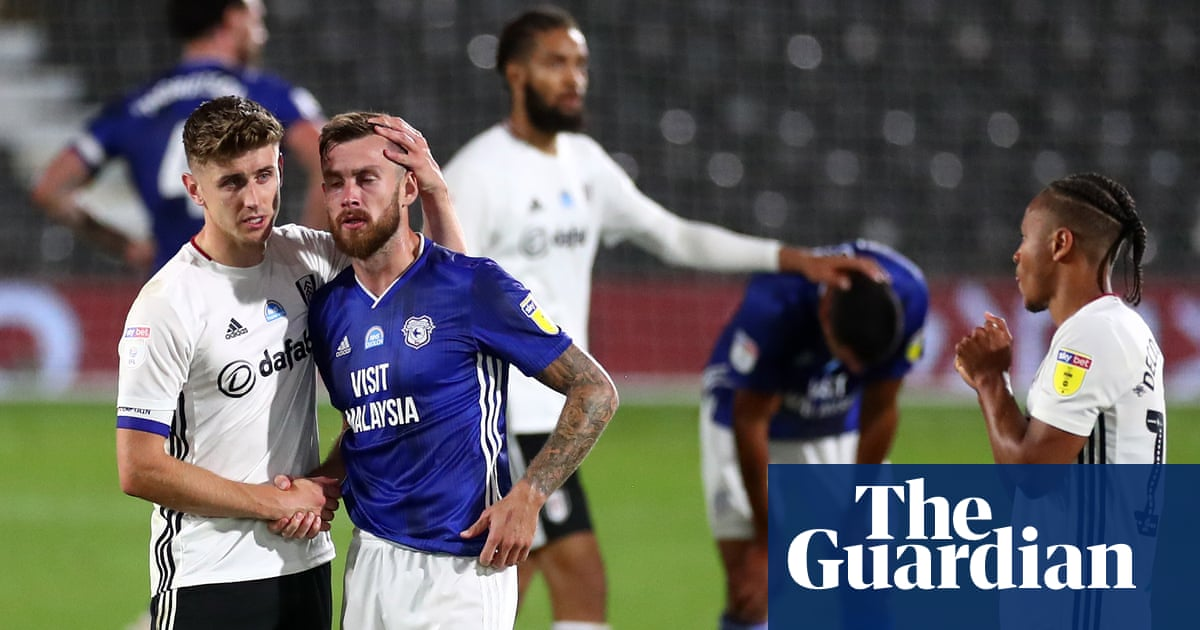 Fulham stumble into Championship play-off final after Cardiff fall just short