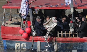 With Farage chucking fish into the Thames, is it too early for a second referendum?