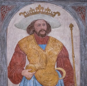 10th century Danish King Harald Bluetooth.