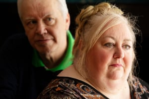 Beth Morrison, founder of Positive and Active Behaviour Support Scotland, with her husband Peter