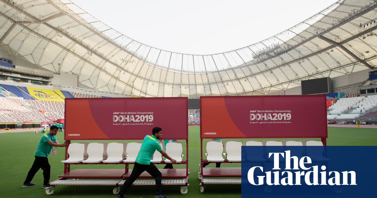 Migrant workers and children to pad out crowd for World Athletics Championships