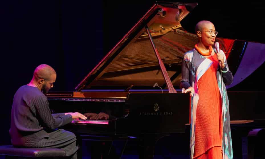 Exquisite ... Sullivan Fortner and Cécile McLorin Salvant at the EFG London jazz festival.