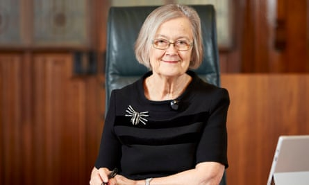 Lady Hale said she had 'never hesitated' to call herself a feminist.