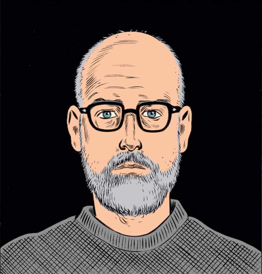 Daniel Clowes – self-portrait.