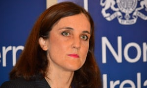 The Northern Ireland secretary, Theresa Villiers.