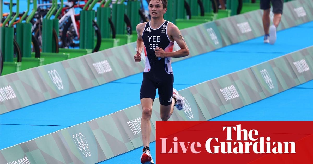 东京 2020 奥运会: GB win gold in triathlon relay, plus athletics, 游泳等 – 直播!