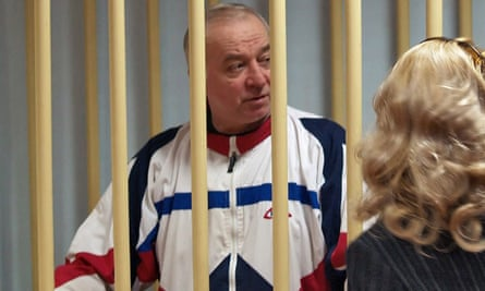 Sergei Skripal in court in 2006 on charges of spying.
