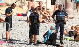 Nice banned the burkini last week.