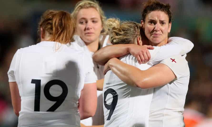 England's captain Sarah Hunter