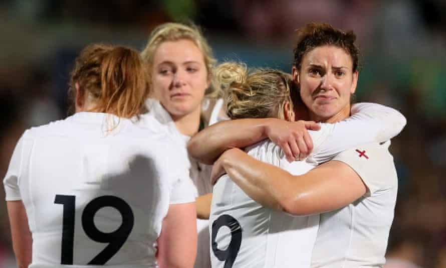 England's Sarah Hunter following the 2017 Women's World Cup final