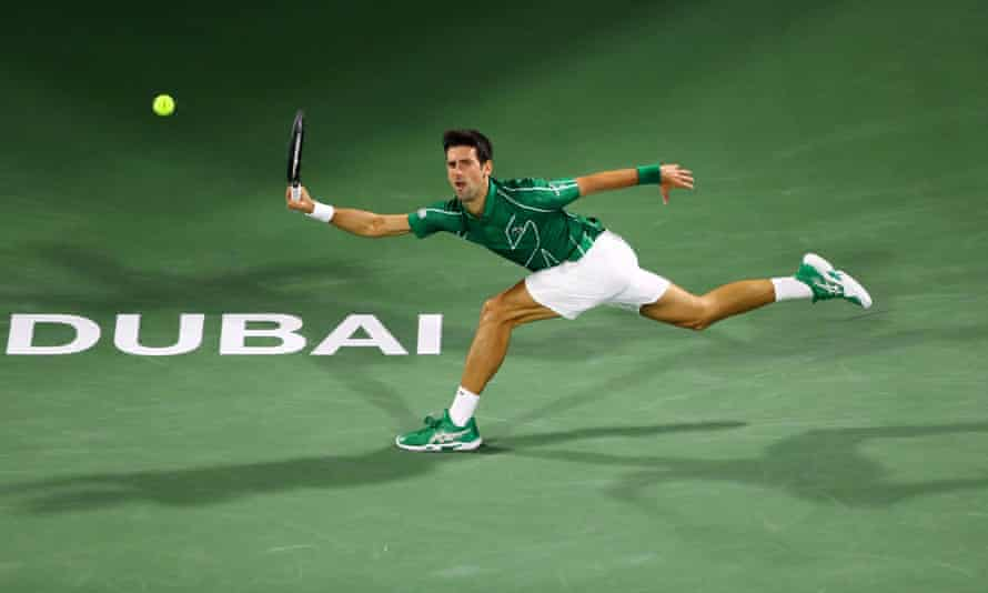 The professional tennis tours never stop - even when top players such as Novak Djokovic take their annual four-week break.