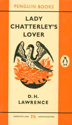 Lady Chatterley's Lover by DH Lawrence. Jeremy Hutchinson defended Penguin Books for publishing it.