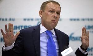 """Andrei Lugovoi disse que a decisão de May de apontar o dedo para Moscou era """"um mínimo irresponsável""""."""