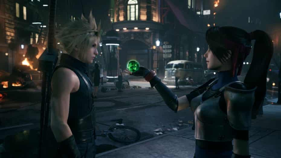 'It has so much to do with memory' … Final Fantasy 7.