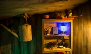 Inside the Dread Shed