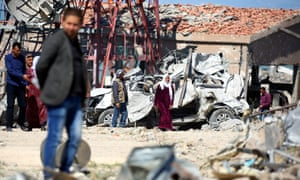 The US had expressed 'deep concern' over Tuesday's air raids and said they were not authorized by the coalition.