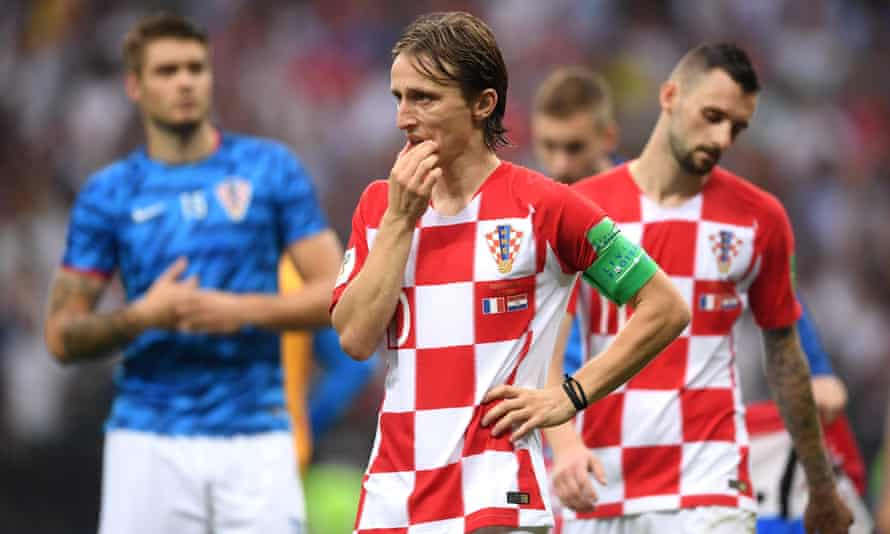 Luka Modric reflects on Croatia's defeat by France in the 2018 World Cup final.