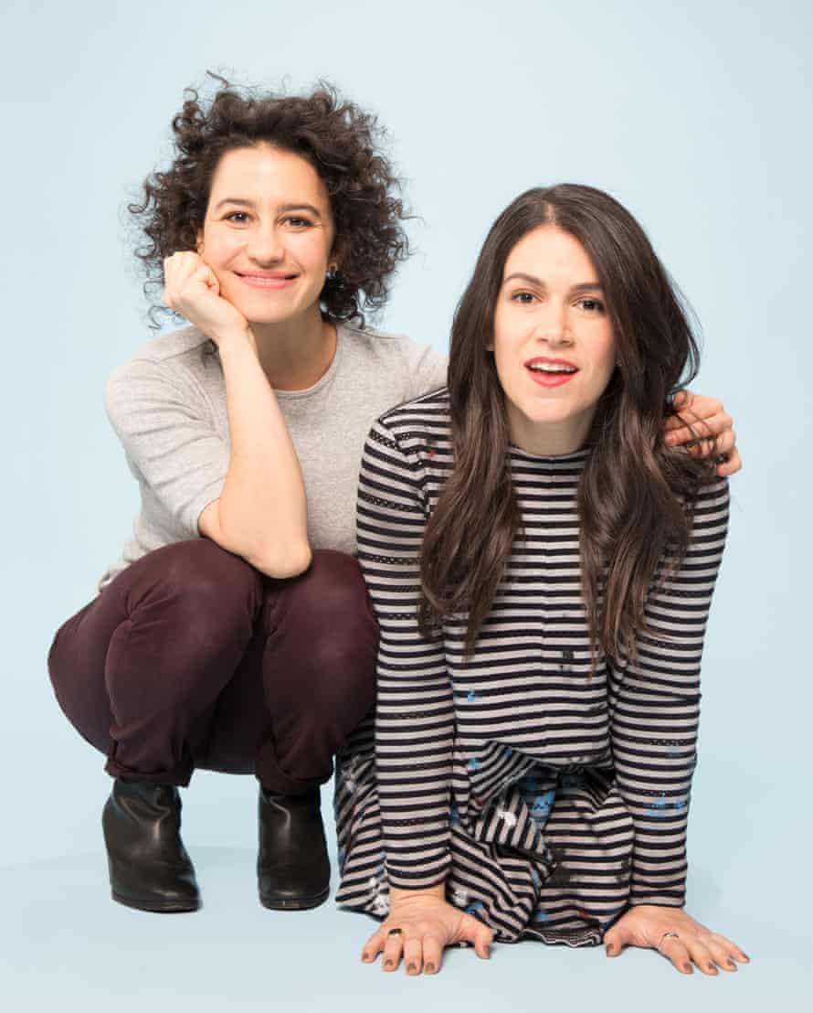 Broad City's Ilana Glazer and Abbi Jacobson.