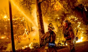 Fire crews ran night operations and controlled burnings to contain the Butte fire in Sheep Ranch Wildfires in California.