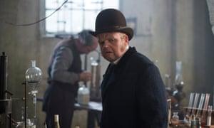 Toby Jones in the BBC's 2016 version of Conrad's The Secret Agent.