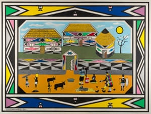 House by Esther Mahlangu