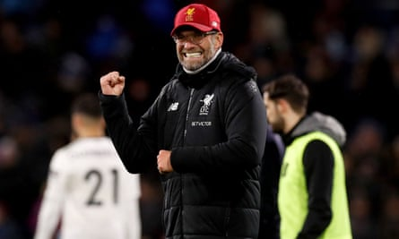 Jürgen Klopp enjoys Liverpool's New Year's Day victory at Burnley and afterwards rejected the idea Philippe Coutinho is close to joining Barcelona.