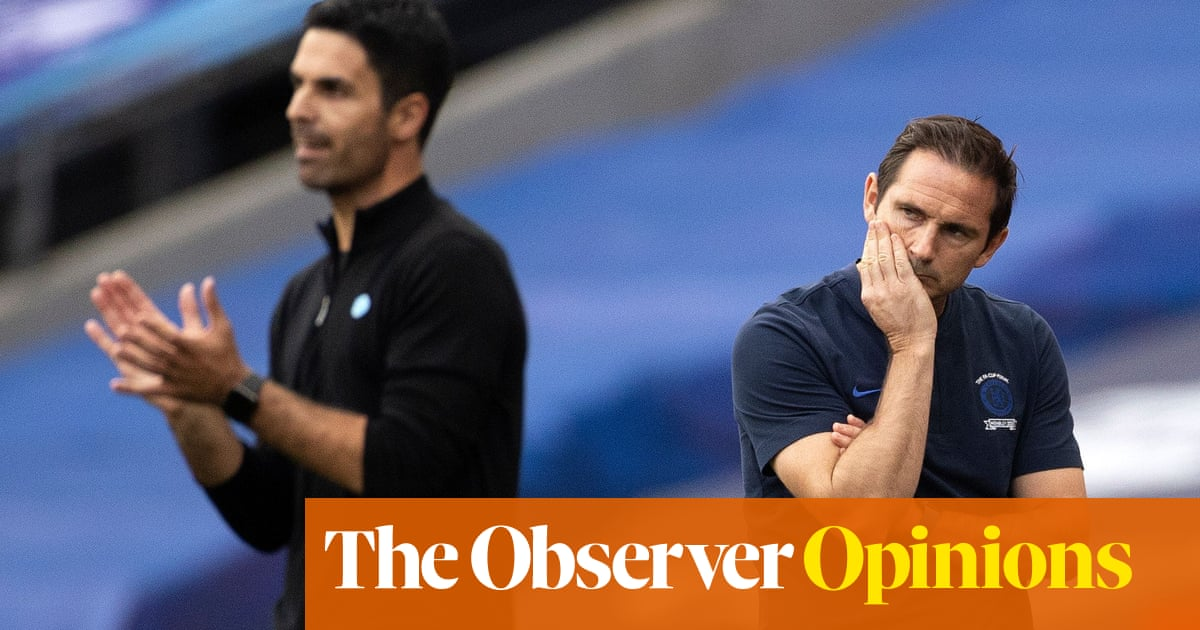 Super-clubs lack patience for rookies like Arteta and Lampard to learn on job | Jonathan Wilson