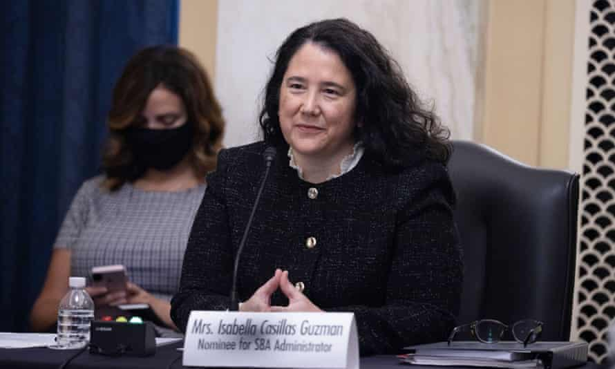 Isabella Guzman is the new administrator for the Small Business Administration.