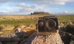 The camera found on the shore in Süderoog