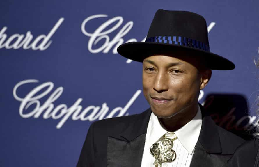 One of the faces of the super-producer boom … Pharrell Williams.