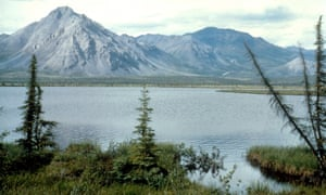 The Arctic National Wildlife Refuge in Alaska.