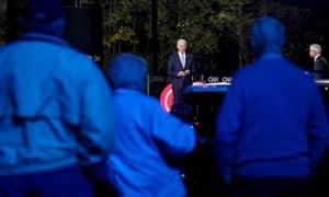 Presidential Candidate Joe Biden Participates in a CNN Town Hall amid the coronavirus pandemic.