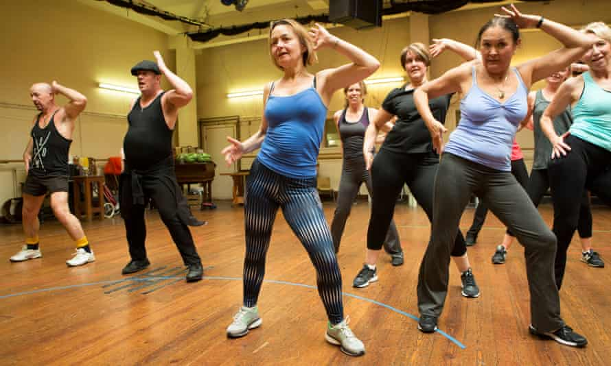 Second Generation 1970's dance troupe rehearsing this year in London.
