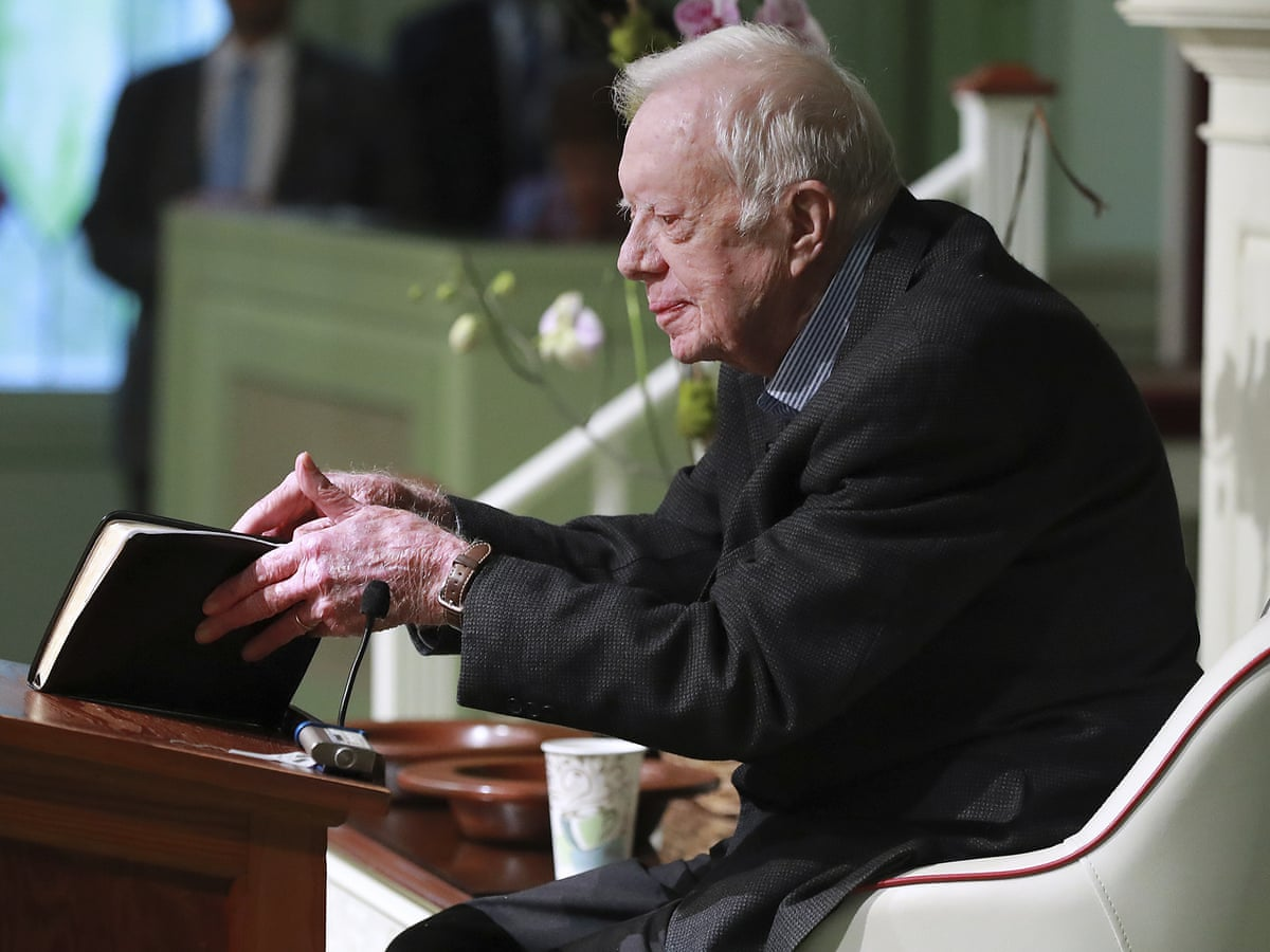 Nice Man Terrible President Trump Fires Back At Jimmy Carter Jimmy Carter The Guardian