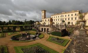 Royal retreat: Queen Victoria's Osborne House. Isle of Wight.