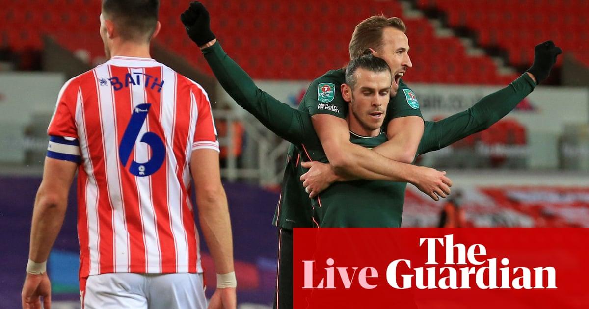 Stoke v Tottenham Hotspur: Carabao Cup quarter-final – live!