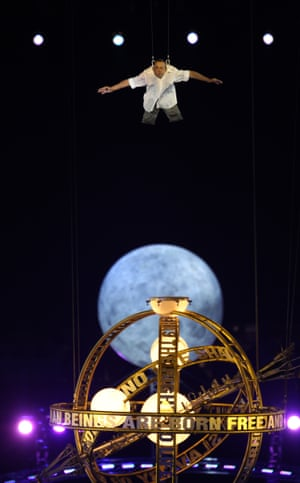 David Toole's mesmerising performance at the opening of the London Paralympic Games in 2012.