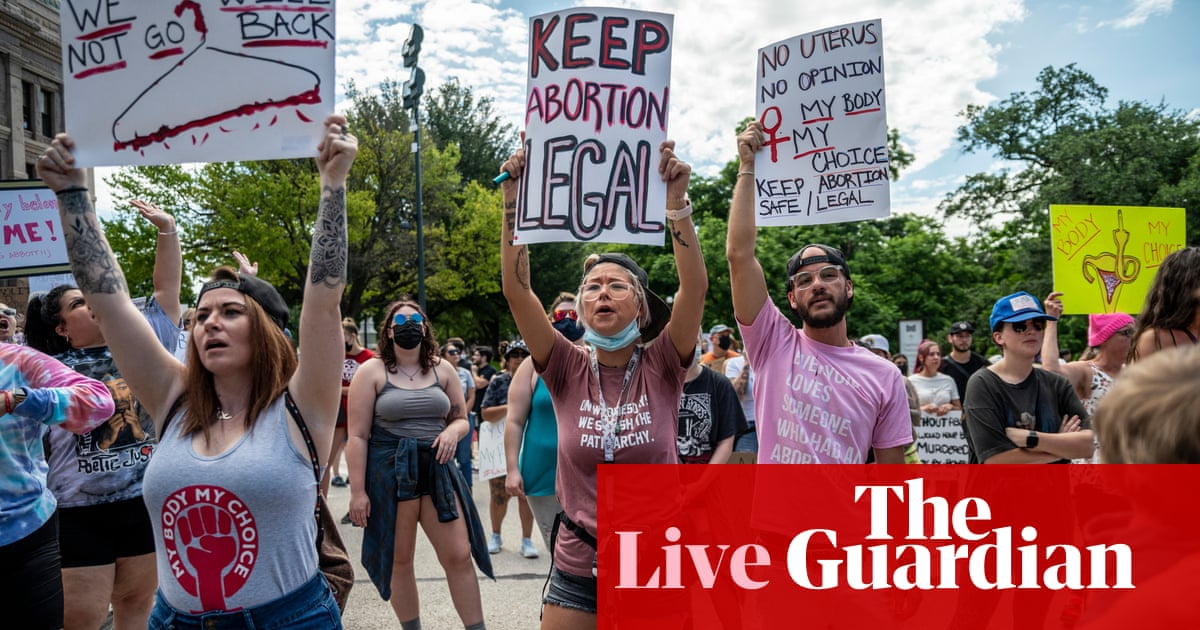 Texas enacts most extreme abortion law in US after supreme court inaction – live