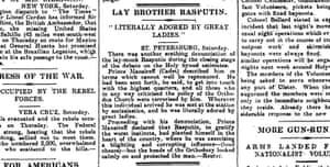 Manchester Guardian, 17 May 1914.