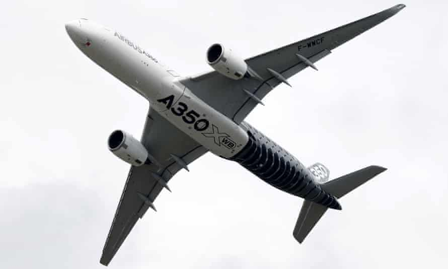 Wings for the Airbus A350 XWB are built in Broughton, Flintshire.