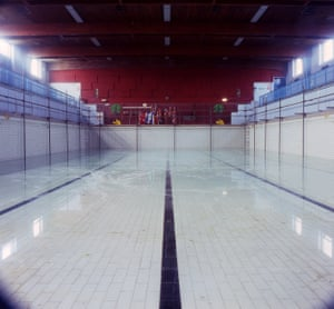 The pool is still full at Newcastle Road swimming baths, taken shortly after its closure in 2009.