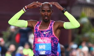 Mo Farah hopes to win his first London Marathon on Sunday