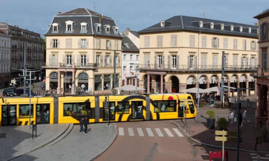 Mulhouse town centre