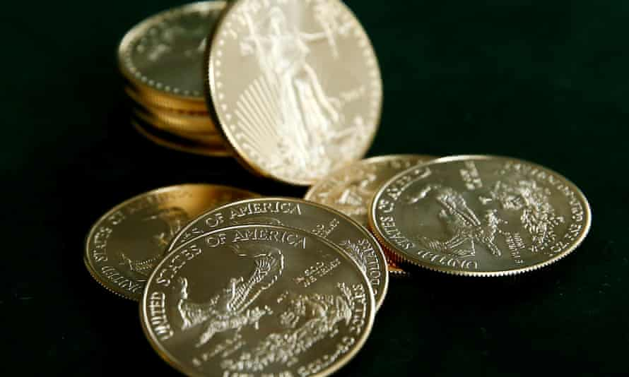 Sales of US gold bullion coins rose thanks to Covid-driven demand and production problems.
